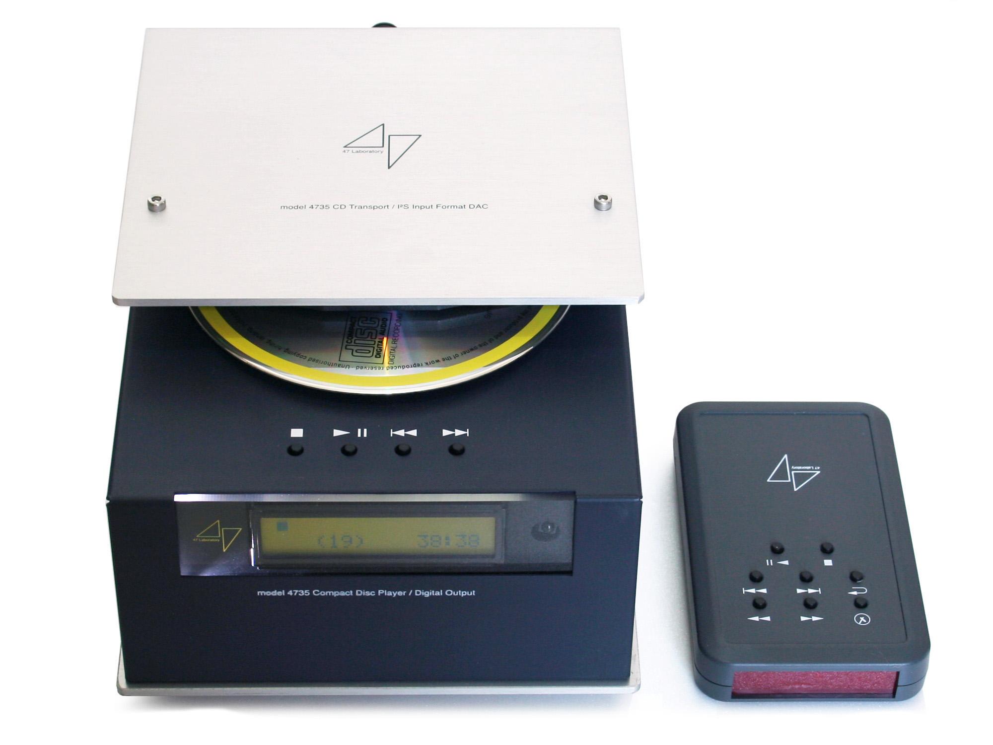 47 Labs: Model 4735 Midnight Blue CD Player