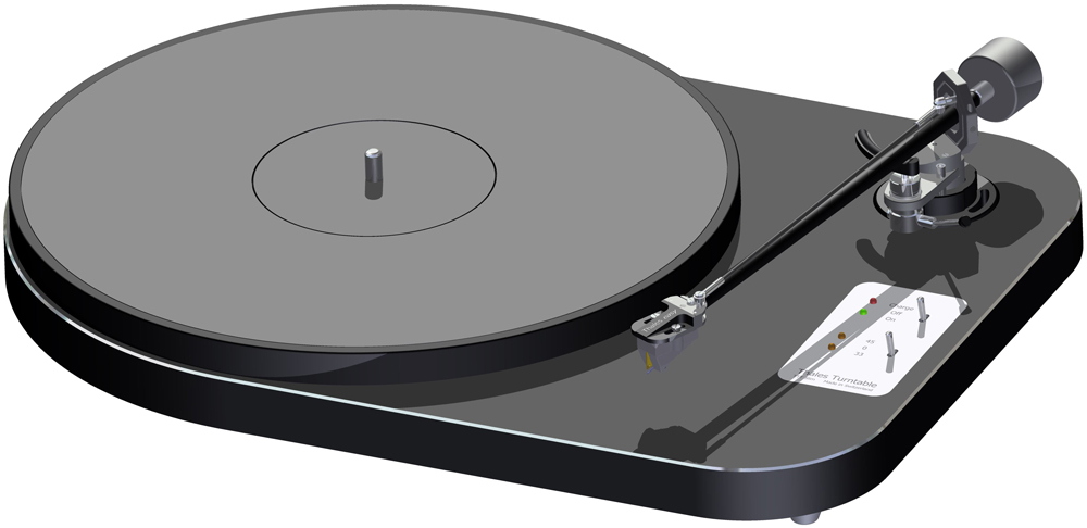 Thales TTT-Slim Turntable and Easy Tonearm Review - Dagogo
