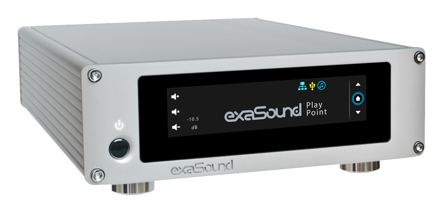 exaSound announces RoonReady upgrade for their PlayPoint network audio player