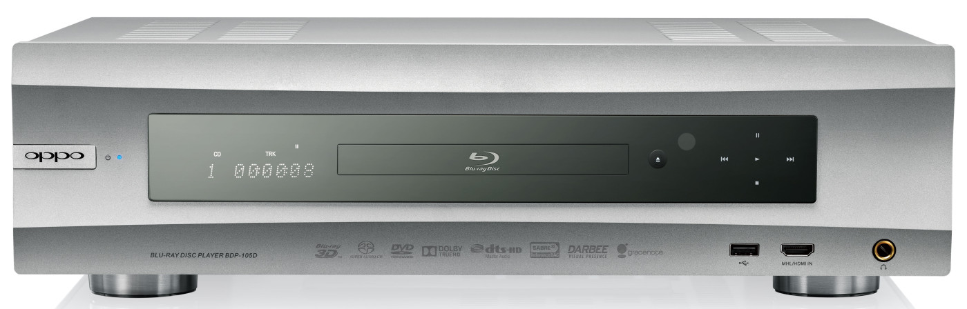 Oppo BDP-105D USB DAC/Streaming Blu-ray player Review