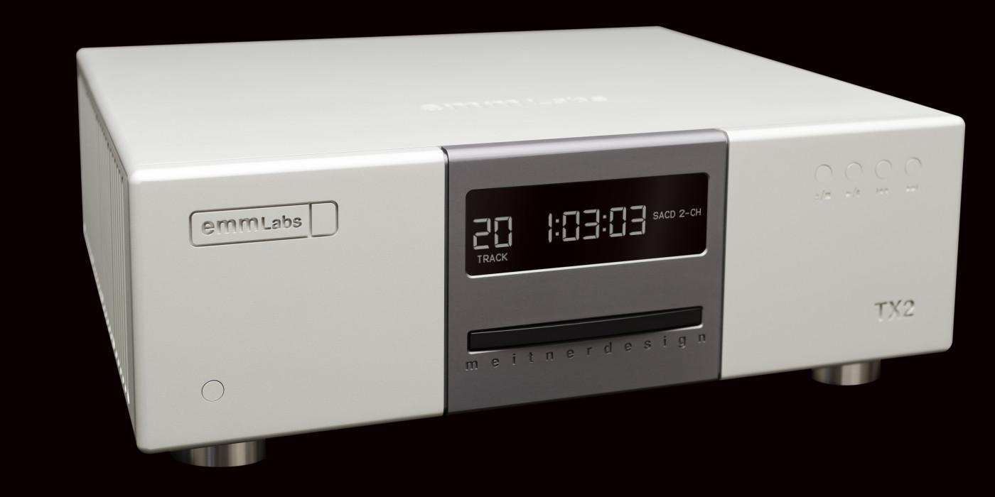 Emm Labs Tx2 Limited Edition Cd Sacd Transport Amp Da2