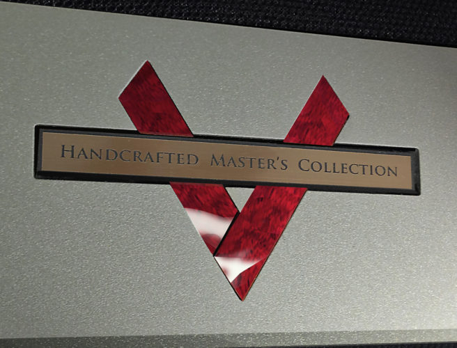 Rear Logo Masters collection