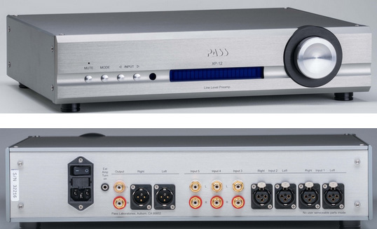 Pass Labs releases XP-12 Line Preamp and XP-17 Phono Preamp