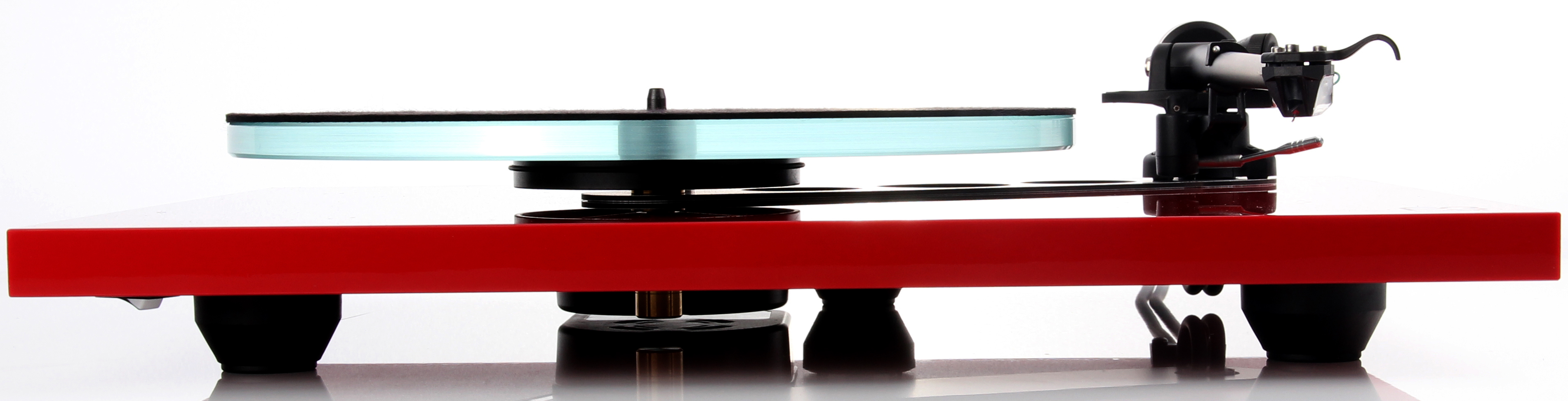 Rega Planar 2 and 3 in Gloss Red now shipping