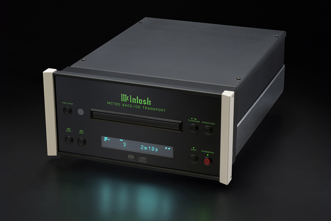 Mcintosh Announces Mct80 Sacd Cd Transport Dagogo