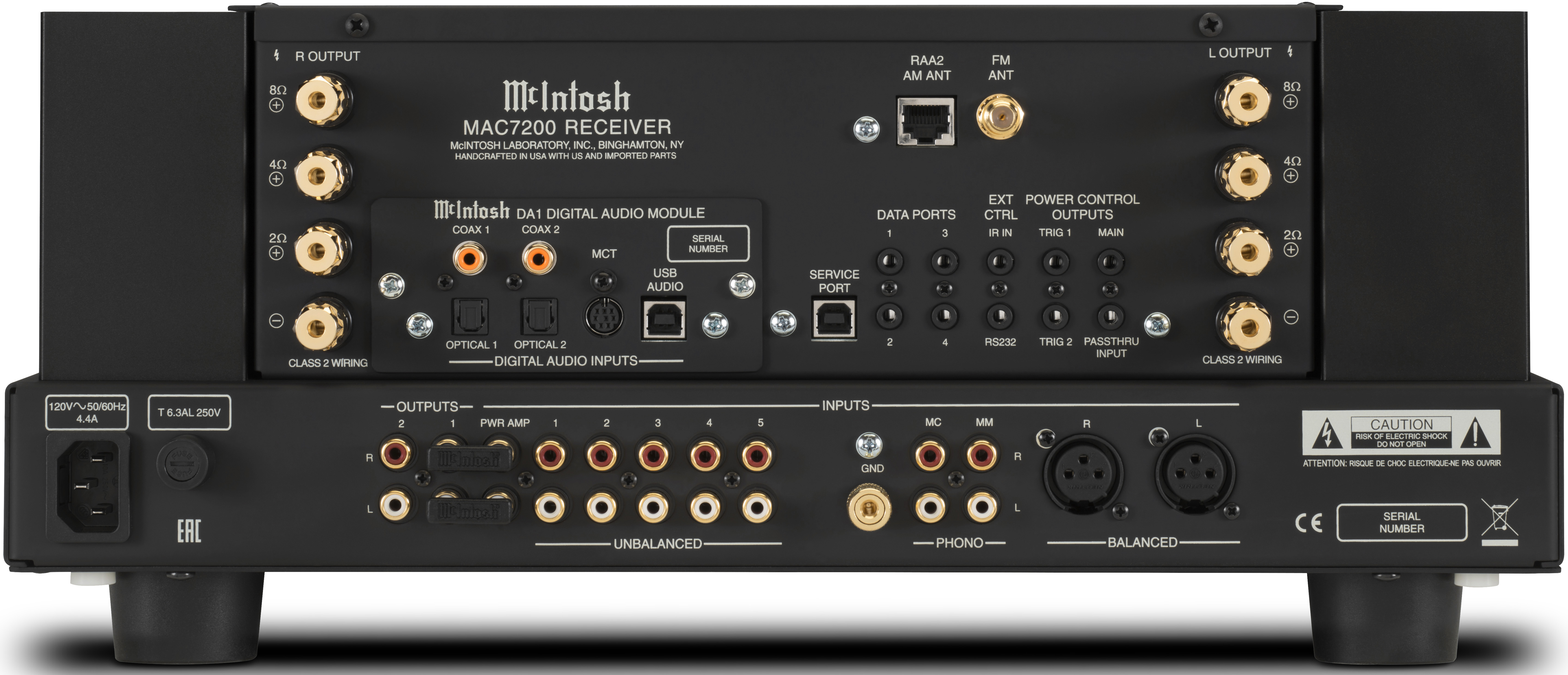 Mcintosh Announces Ma7200 Integrated Amplifier And Mac7200 Receiver Class 2 Audio Wiring The
