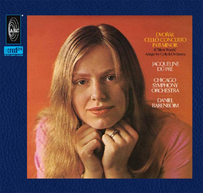 """XRCD24 Dvorak/Jacqueline Du Pre: Cello Concerto & """"Silent Woods,"""" Adagio for Cello & Orchestra"""