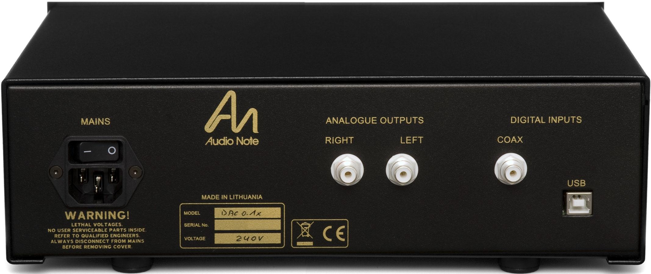 Audio Note UK DAC 0 1x Review - Dagogo