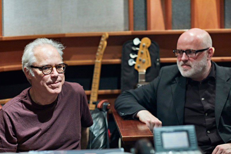 "Newvelle Records presents Skúli Sverrisson and Bill Frisell's ""Strata"""
