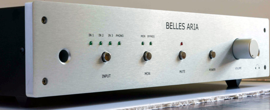 PMI Belles Aria Preamplifier and Monoblock Amplifiers Review