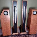 Aspen Acoustics Lagrange L5 MKII ribbon dipole speaker system